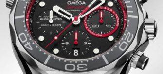 Omega Seamaster Diver ETNZ Limited Edition