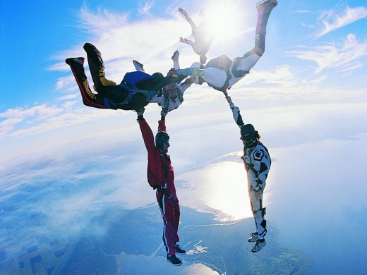 Amazing Skydiving