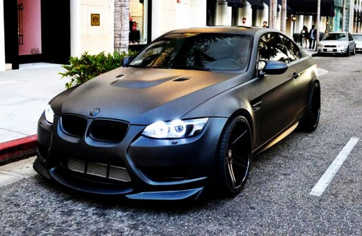 BMW Matt Black
