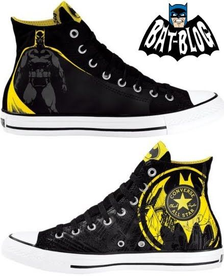 BAT – BLOG : BATMAN TOYS and COLLECTIBLES: New BATMAN CONVERSE Shoes and Sneakers – Gotham City Style!