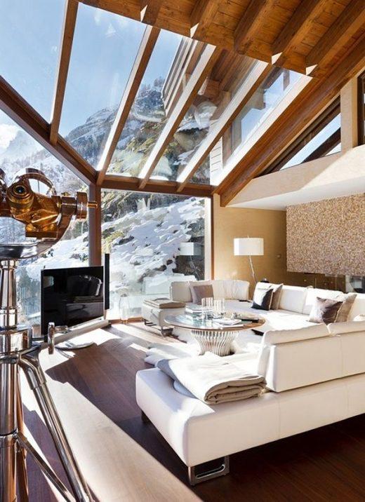Luxurious Chalet Zermatt Peak in the Swiss Alps