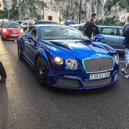Onyx Bentley Continental Follow @top.supercars @top.supercars @top.supercars By@supercarsontheriviera