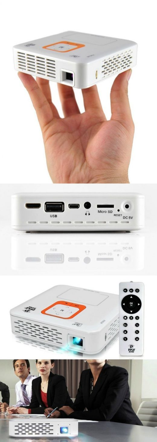 Pyle Smart Pocket Projector – Presentations in your Palm