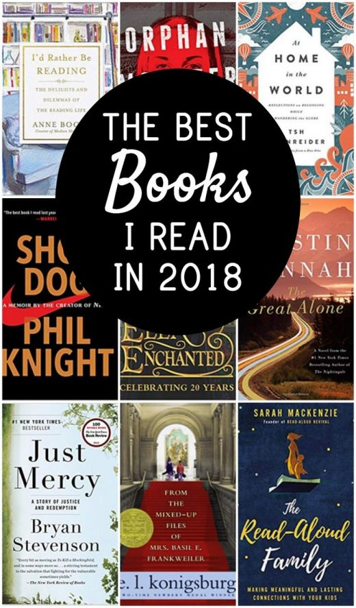 Top 10 Best Books of 2018