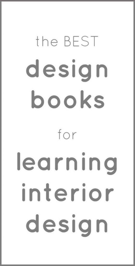 The Best Design Books for Learning Interior Design