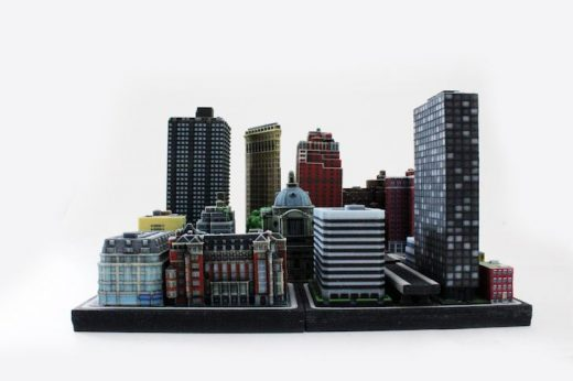 Toys and collectibles let architecture fans bring buildings home