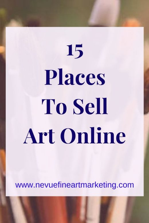 15 Places to Sell Art Online And Make Money