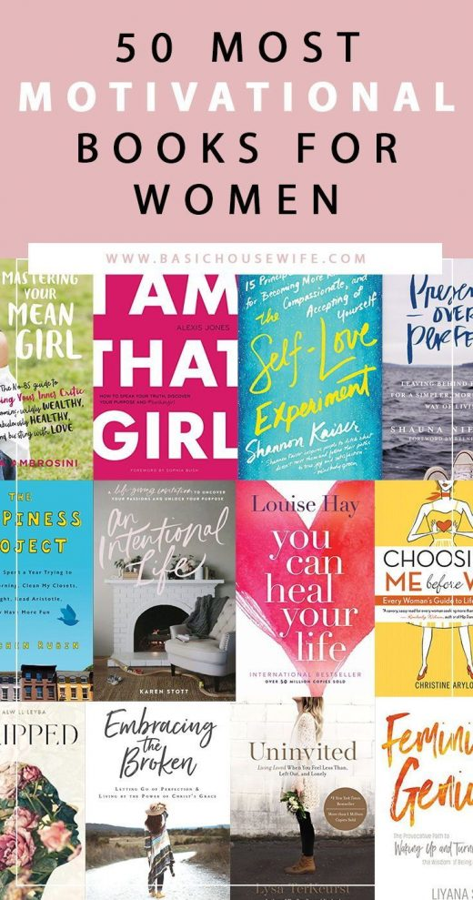 50 Motivational Books for Women | Best Books 2018 | Must-Read Books in Your Twenties | Must-Read Books in Your Thirties | Inspiring Books