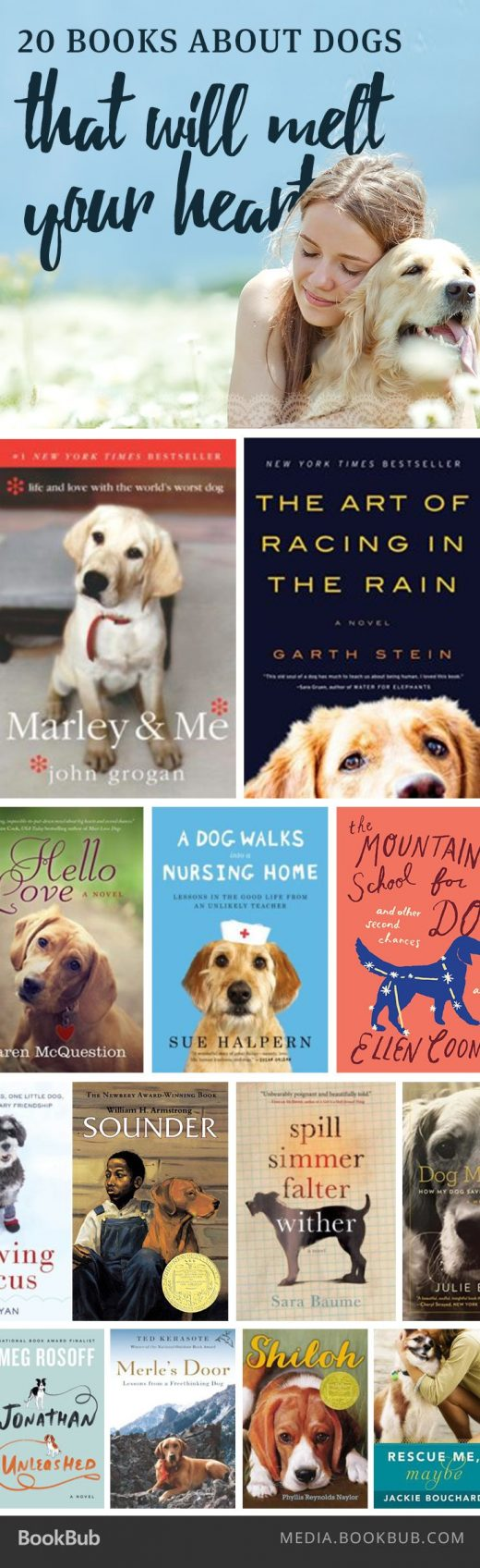 20 Books About Dogs That Will Melt Your Heart