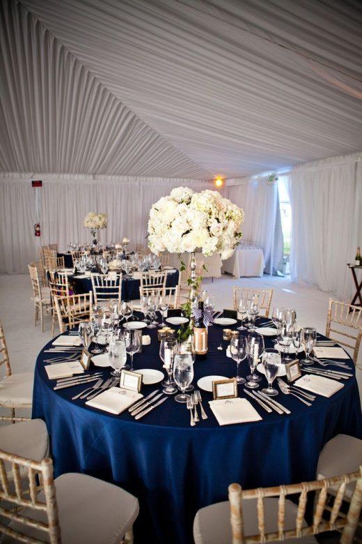 21 Inspiring Navy and White Wedding Ideas