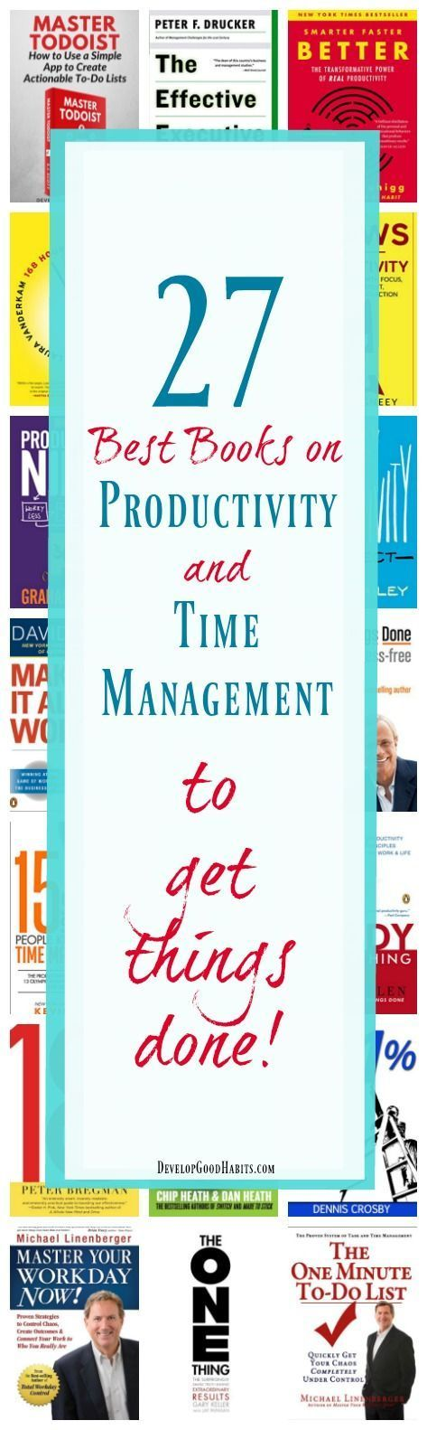 27 Best Books on Productivity and Time Management to Get Things Done!