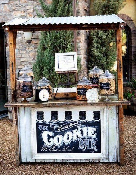 30 Trendy Wedding S'more, Cookies & Milk Bar Ideas