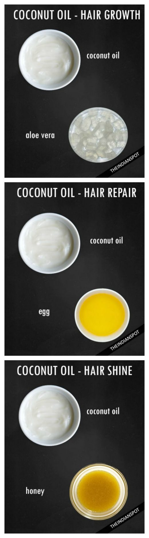 5 Best DIY Coconut oil hair treatments