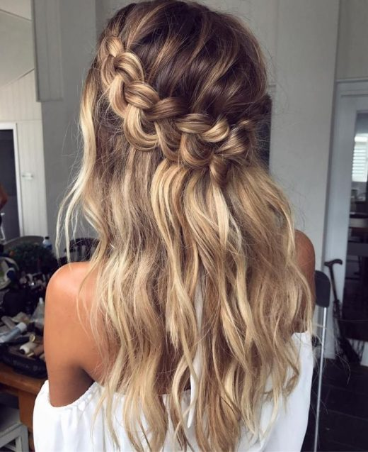60 Breezy Crown Braid Hairstyles for Summer