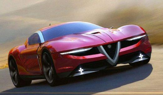 Alfa Romeo Caprie: una supercar concept immaginata in render