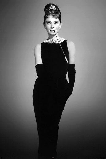 Audrey Hepburn – by avela Poster