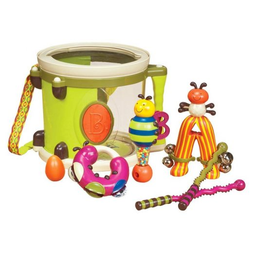 B. toys Parum Pum Pum, Toy Drums and Percussion