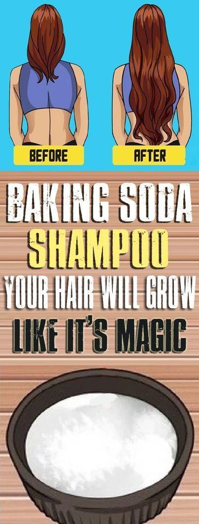 BAKING SODA SHAMPOO: IT WILL MAKE YOUR HAIR GROW LIKE IT IS MAGIC