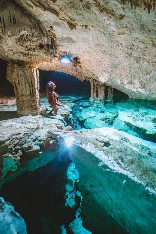 Cenotes In Tulum, Meico