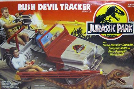 Check out the deal on Jurassic Park – Bush Devil Tracker Jeep Vehicle (MISB)C8.5…