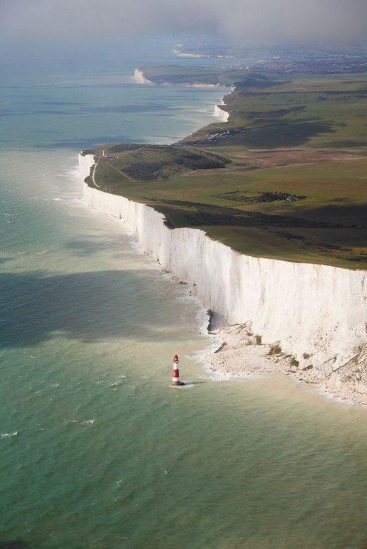 England's Breathtakingly Beautiful Chalk Cliffs