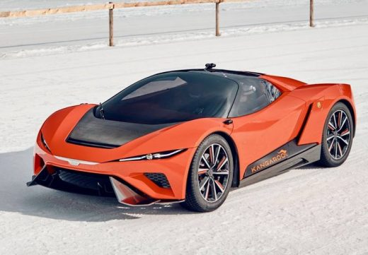 GFG Kangaroo electric all-terrain supercar concept