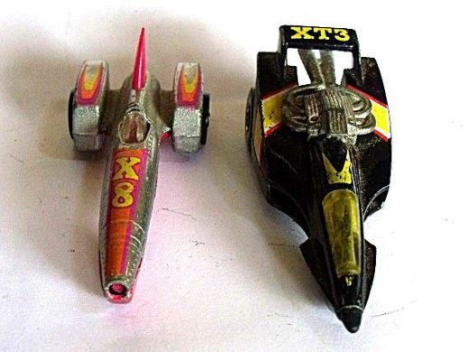 Hot Wheels Car Exotic Racing Models – Set of 2 Hot Wheels, X8 Die Cast Toy and XT3 Rocket Cars – Collectible Toy Miniature Cars