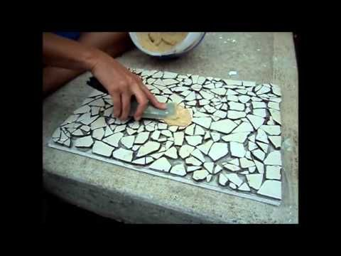 How to: Mosaic Tile Project – Fast Tutorial for Beginners – YouTube