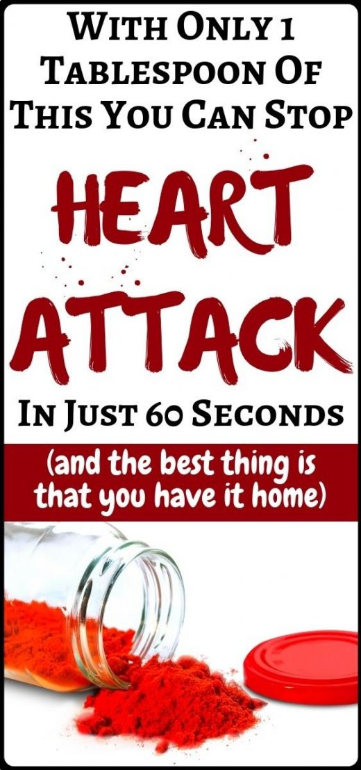 How to Stop a Heart Attack in Just 60 Seconds – It's A Very Popular Ingredient in Your Kitchen – health and fitness …