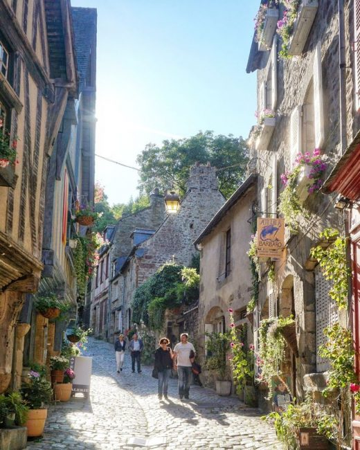 Medieval Town of Dinan France! (Brittany, Northern France