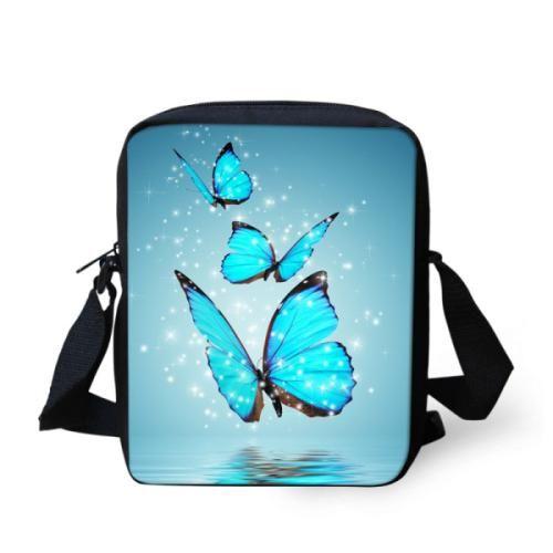 Messenger Bag Women Butterfly Printing Spain Bag Casual Mini Lady Crossbody Bags