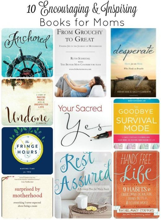 Productivity books | How to be a productive mom | best books for moms