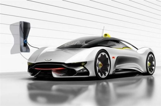 Red Bull : une supercar électrique avec Mercedes ?