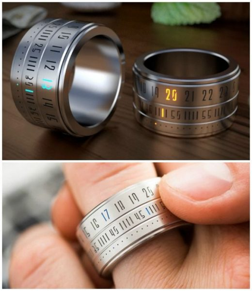 Ring Clock: your Watch on your Finger