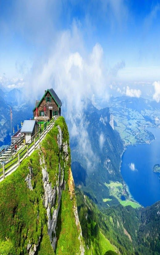 Rising high above the shore of Lake Wolfgangsee in Austria, Schafberg Mountain