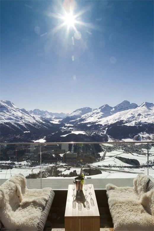 Romantik Hotel Muottas Muragl in the Swiss Alps