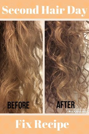Second Hair Day Fix Recipe