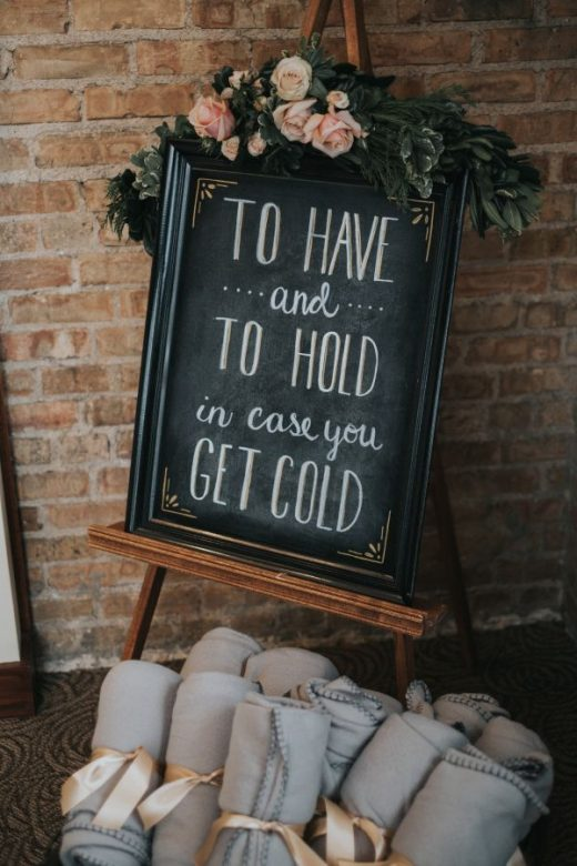 This Winter Wedding is the Definition of Cozy