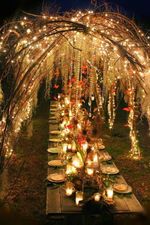 faerie party table