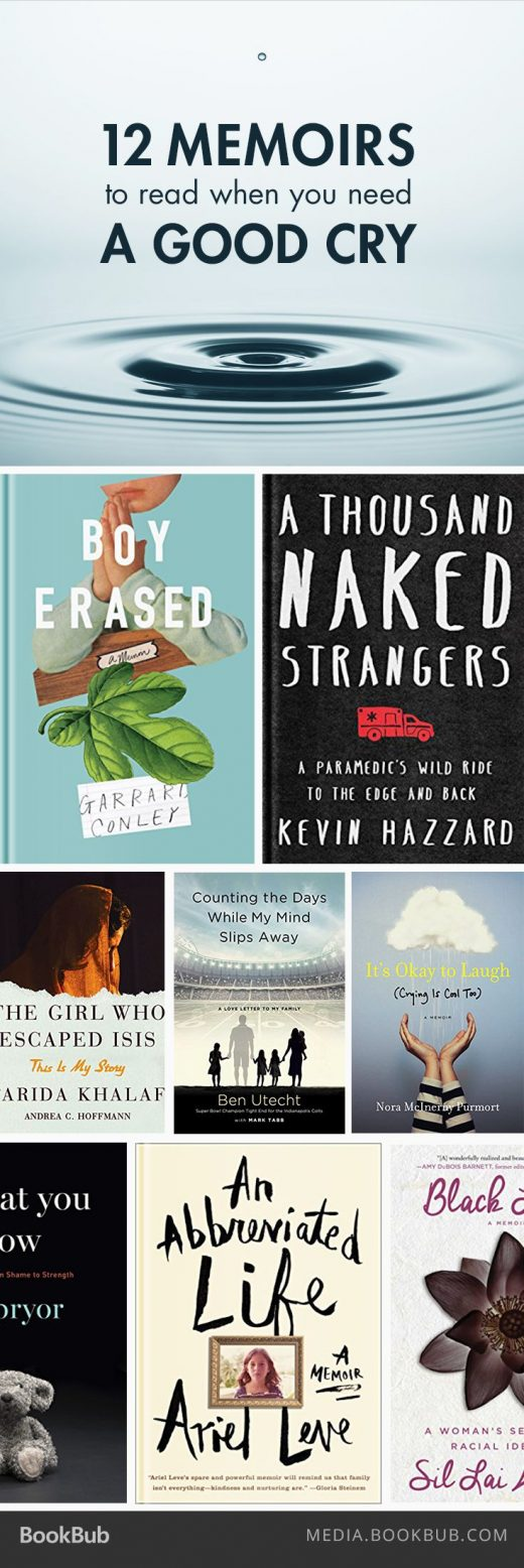 12 Memoirs to Read When You Need a Good Cry