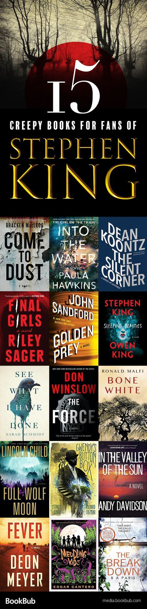 15 Creepy Books for Stephen King Fans Coming This Summer