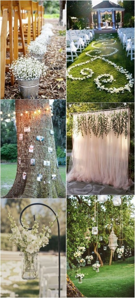 20+ Genius Outdoor Wedding Ideas