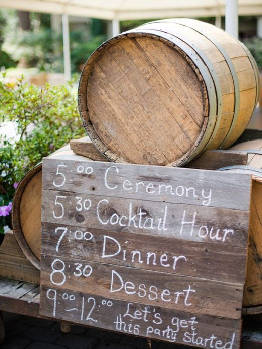 20 Vineyard Wedding Ideas