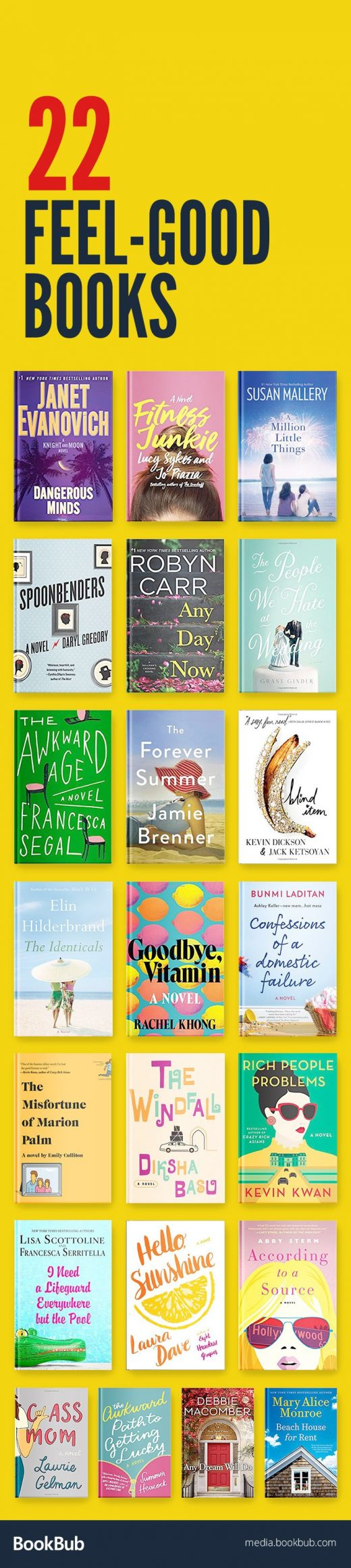 22 Feel-Good Books to Read on a Rainy Day