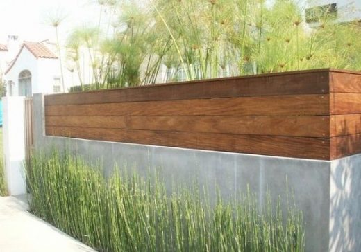 25+ Best Concrete Fencing Design Ideas For Backyard Remodeling Plan