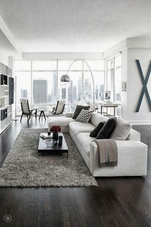 40+ Luxurious Black and White Living Room Ideas