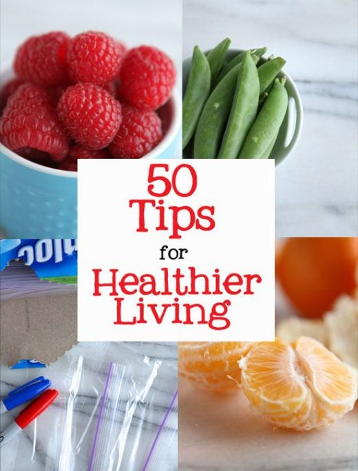 50 Easy Tips for a Healthy Lifestyle