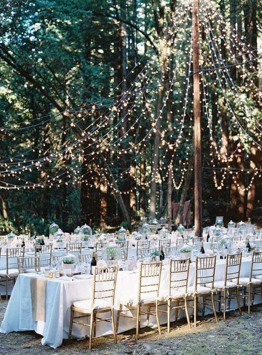 50+ Romantic Backyard Outdoor Weddings Ideas