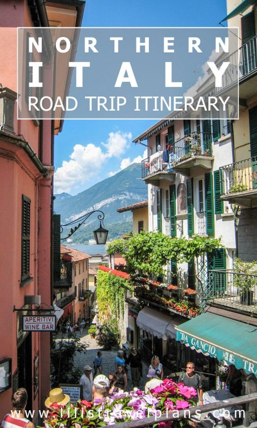 A ROAD TRIP THROUGH NORTHERN ITALY – 18 day itinerary