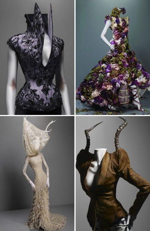 Alexander McQueen's best designs will be exhibited in London